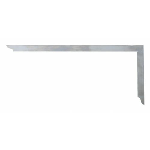 Ácsderékszög varratmentes - 1000 x 380 mm, nincs
