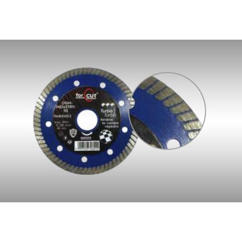 DGM-INDUSTRY turbó extra vékony gyémánttárcsa 125 x 8,0 x 22,2mm