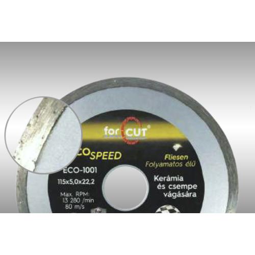 ECO SPEED folyamatos élű gyémánttárcsa 230 x 2,4 x 5,0 x 22,2mm