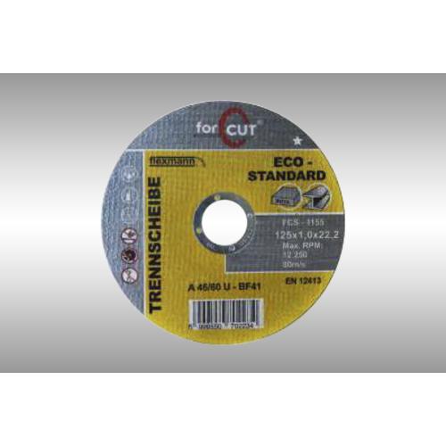 ForCut Standard vágókorong 125 x 1,0 x 22,2mm