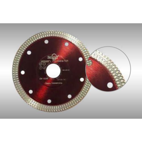 PRO-EXTRA turbó extra vékony gyémánttárcsa 125 x 22,2mm