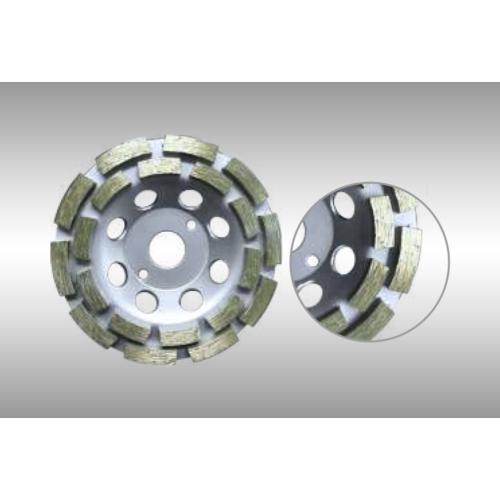 STD kétsoros gyémántfazék 125 x 22,2mm