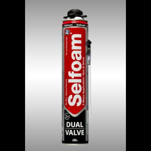 Dual Valve purhab, dupla szelep felhasználás 750ml (visszazárható)