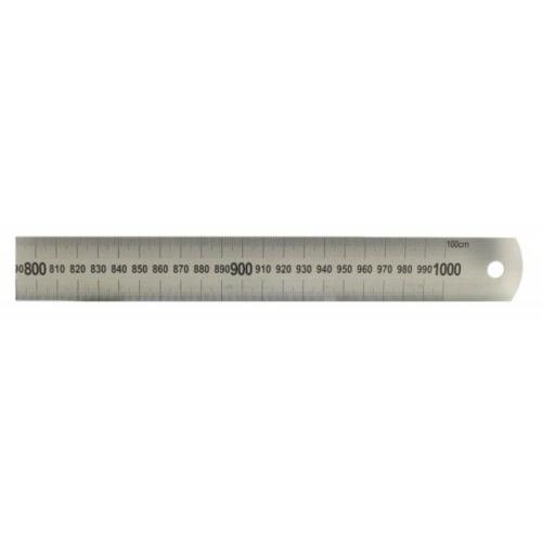 Acél vonalzó - 1000 mm