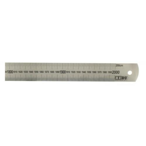 Acél vonalzó - 1500 mm