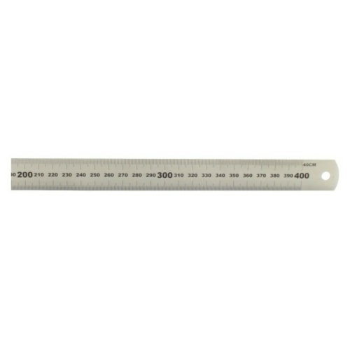 Acél vonalzó - 400 mm