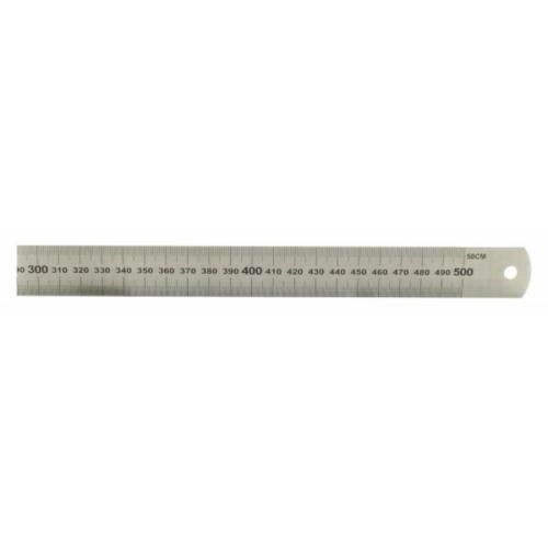 Acél vonalzó - 500 mm