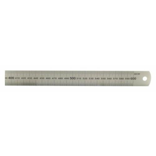 Acél vonalzó - 600 mm