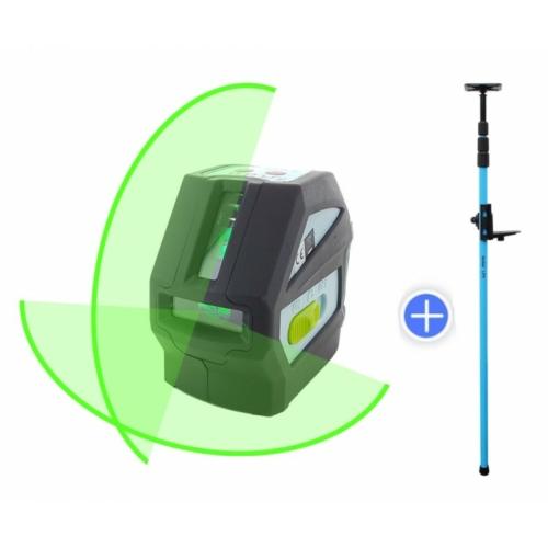 hedue L1G zöld vonallézer + 1057 szorító rúd