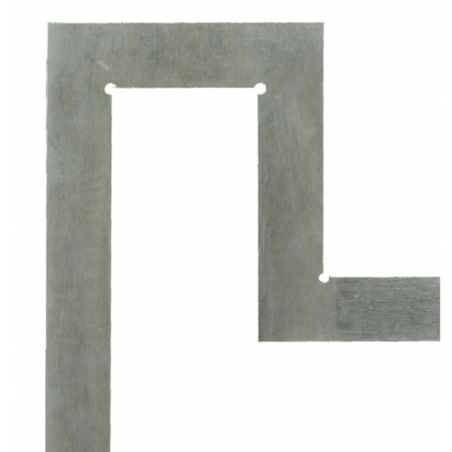 Karima derékszög - 800 x 500 mm; 125 x 100 mm