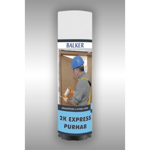 EXPRESS 2K Purhab 400ml ( 5-10 perc után vágható) Gyors szerelőhab