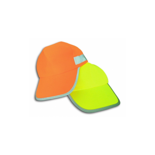 Fénycsíkos baseball sapka narancssárga