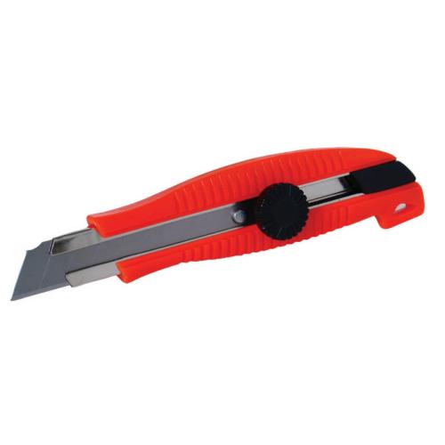 Lev tapétavágó, törhető pengés kés S201, 18mm, fém kivezető